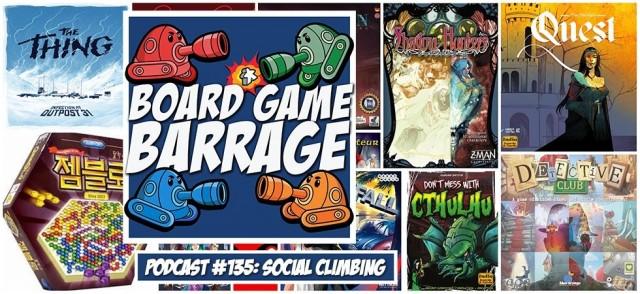 Social Climbing - Board Game Barrage
