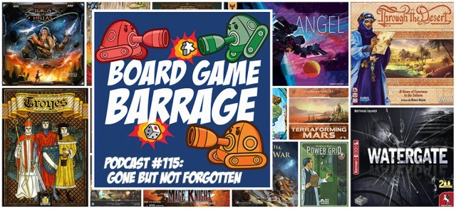 Gone But Not Forgotten - Board Game Barrage