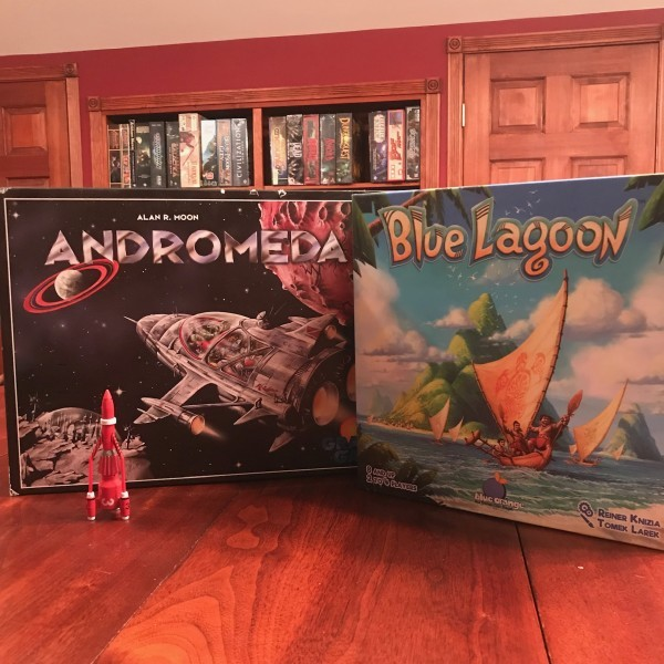 It Came From the Tabletop! A Board Game Podcast - Andromeda and Blue Lagoon