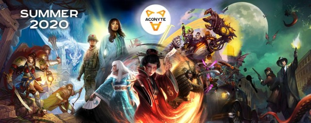Aconyte Books Announces First Season of Asmodee Tie-In Novels