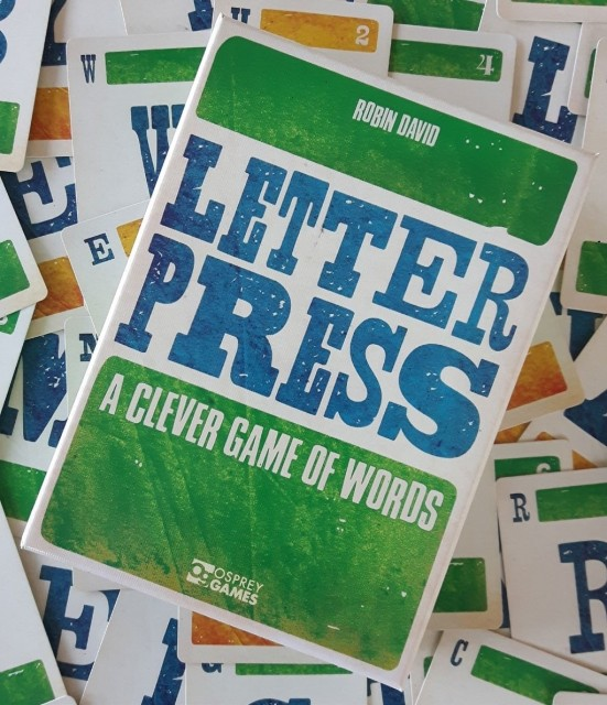 Letterpress Board Game Review
