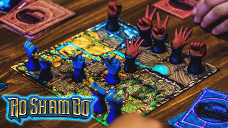 Ro Sham Bo on Kickstarter Now