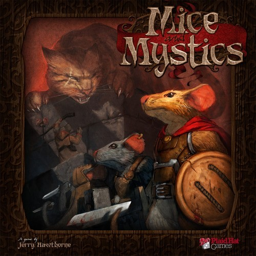 Mice and Mystics - A Short Three Game Review