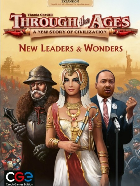 Through the Ages: New Leaders and Wonders Expansion Coming This Fall