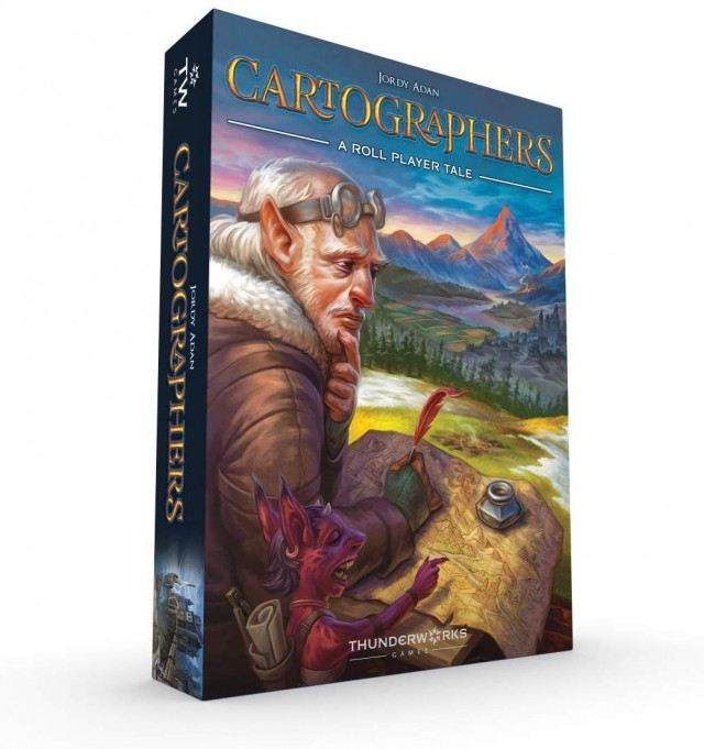 Win Cartographers: A Roll Player Tale