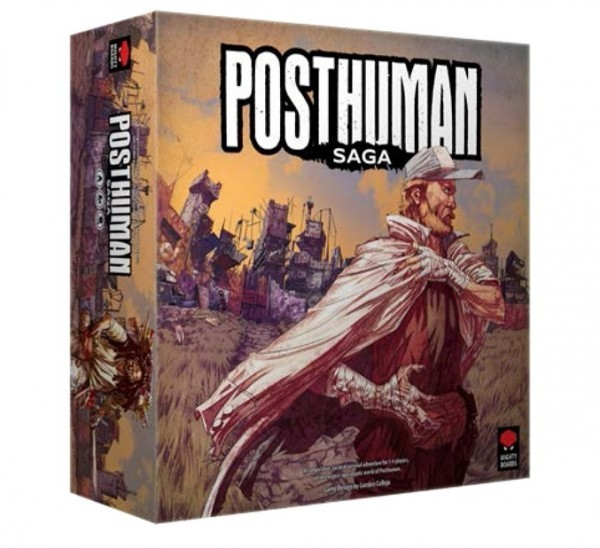 Posthuman Saga Coming Soon from Asmodee and Mighty Boards