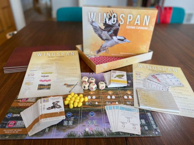 Wingspan: Oceania Expansion Review