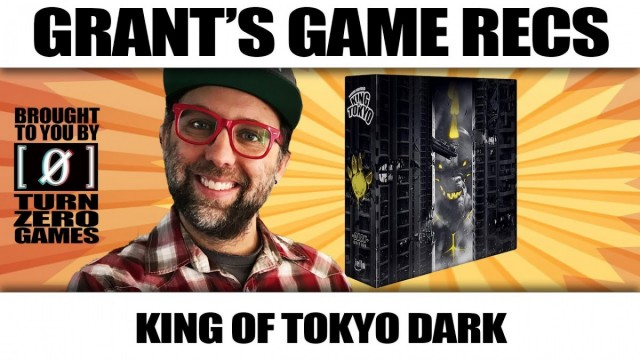 King of Tokyo Dark Edition - Grant's Game Recs