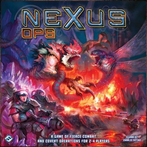 Nexus Ops Board Game Review: Top of the Ops