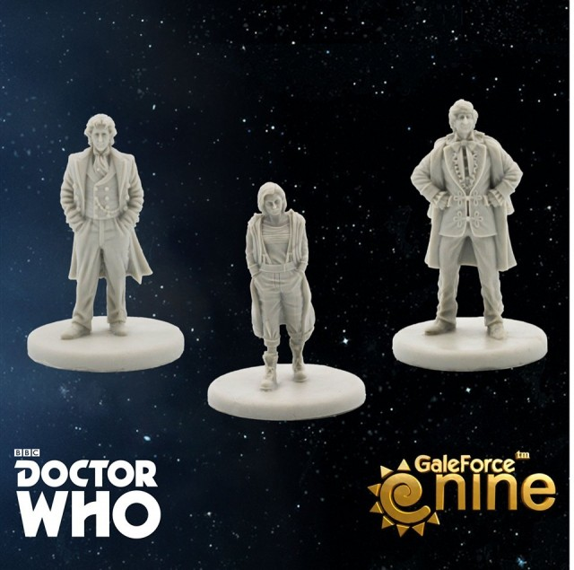 Gale Force Nine Announces 13th Doctor, Jodie Whittaker, Expansion