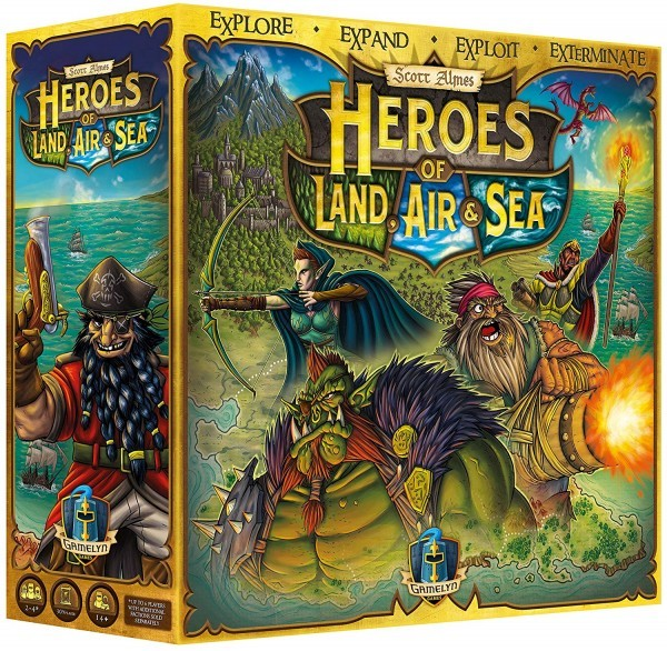 The Pleasures and Tortures of  - Heroes of Land, Air & Sea