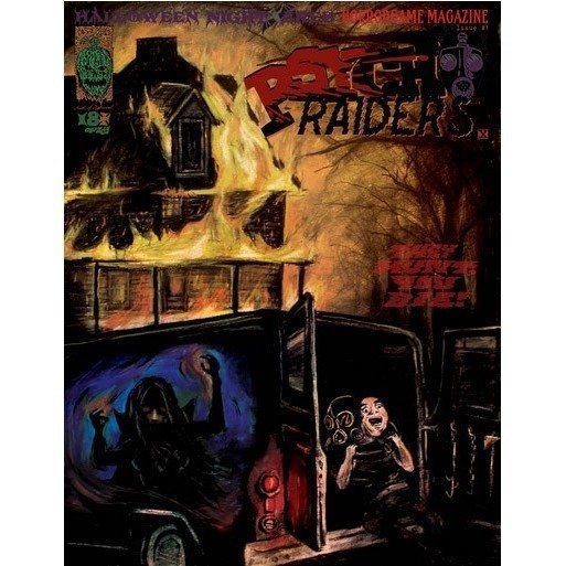 Psycho Raiders Reprinted for Halloween