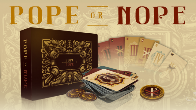 Aww, You Noped My Battle Pope: A Pope Or Nope Board Game Review