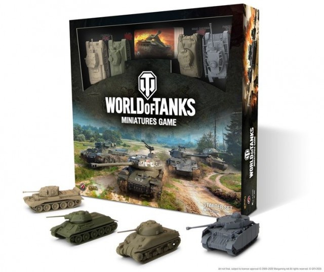 World of Tanks Starter Set Board Game Review