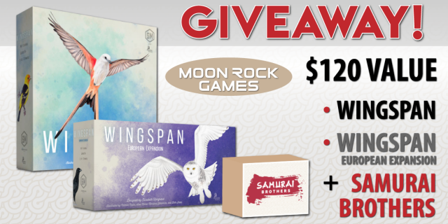 Worldwide Wingspan & Samurai Brothers Giveaway
