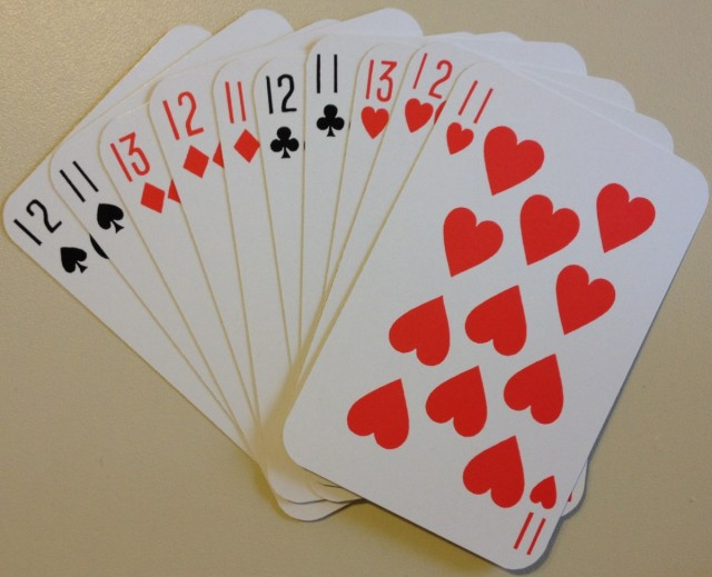 Abstraction – 2 Players with a Deck of Cards.