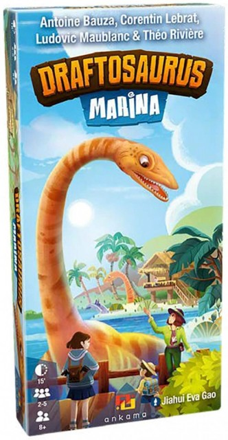 Draftosaurus: Marina Expansion Coming Soon