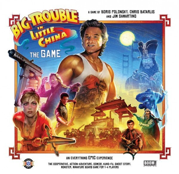I'm a reasonable game: Big Trouble in Little China Board Game Review