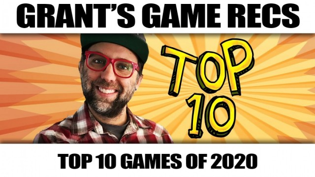 Top 10 Board Games of 2020 From Grant's Game Recs