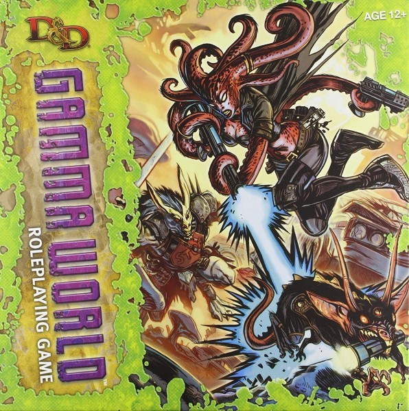 Dungeons & Dragons Gamma World - RPG Game Review