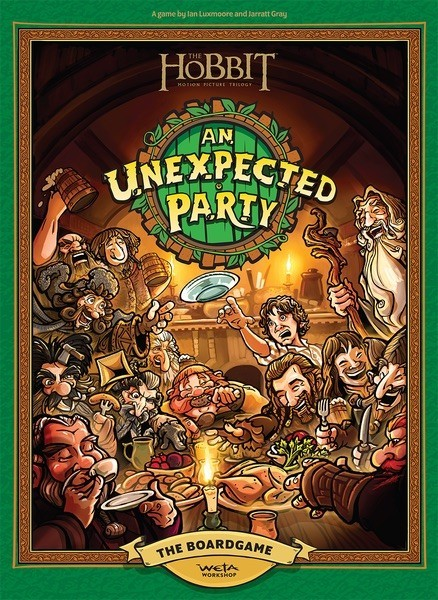 The Hobbit: An Unexpected Party Board Game Announced