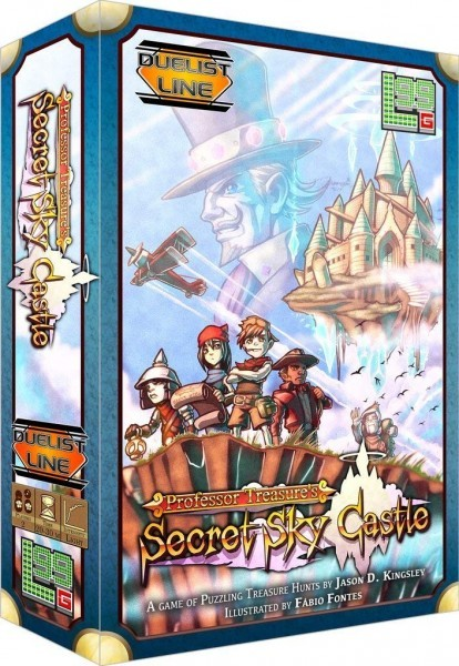 Professor Treasure's Secret Sky Castle Board Game Review