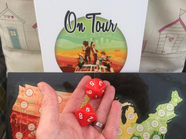 On Tour Board Game Review