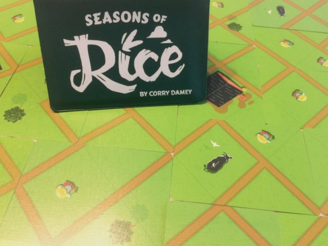 Seasons of Rice Board Game Review
