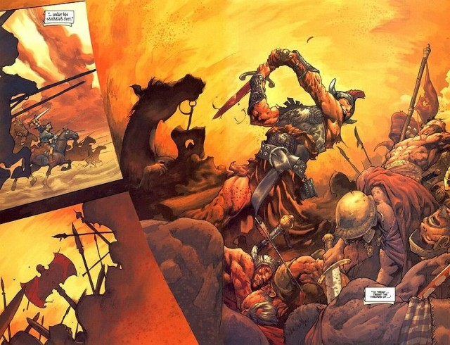 ...to tread the jeweled thrones of the Earth under his sandaled feet - A look at Dark Horse's Conan