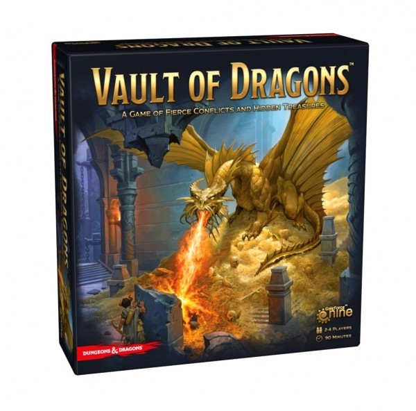 Vault of Dragons - Dungeons & Dragons Board Game