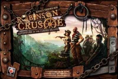 Robinson Crusoe: Adventure on the cursed Island by Portal Games  will be published in English by Z-man games!