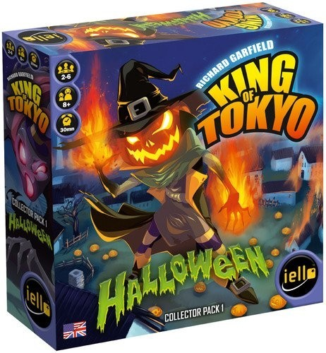 King of Tokyo Halloween Expansion Review