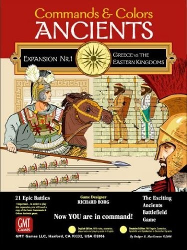 Command & Colors: Ancients Expansion 1 - Greeks and Eastern Kingdoms