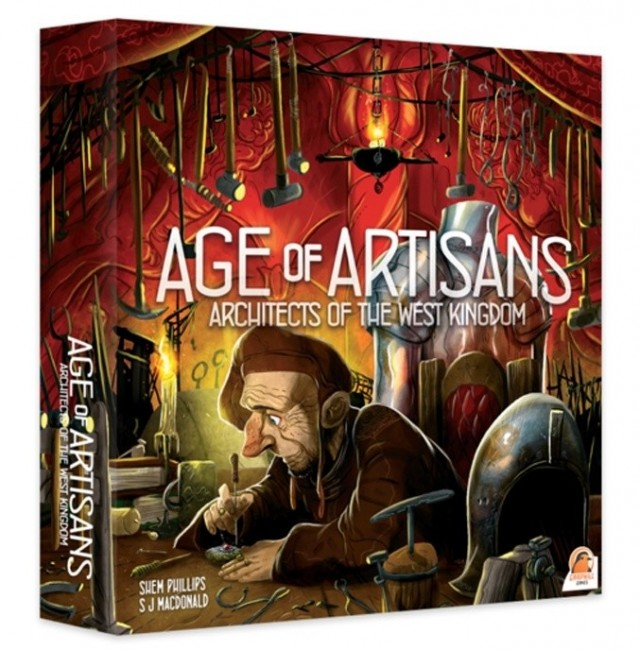 Age of Artisans Expansion Adds 6th Player to Architects of the West Kingdom