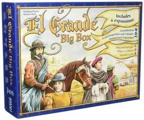 Discount Dive: El Grande Big Box 20th Anniversary Edition Board Game Review