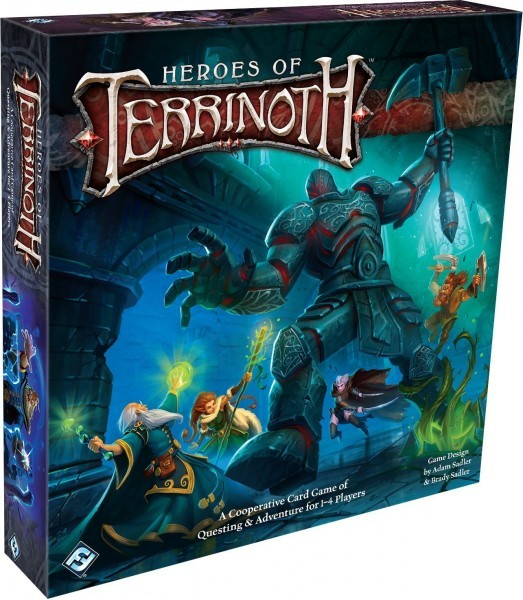 Heroes of Terrinoth: Adventure Card Game