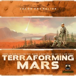 Moonwalking Mars:  A Terraforming Mars Board Game Review