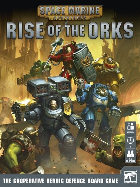 Space Marine Adventures: Rise of the Orks Coming this Fall to Barnes & Nobel