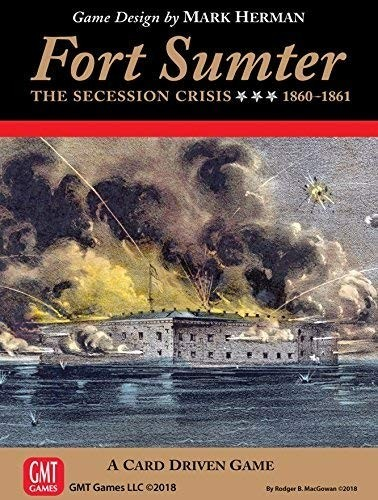 Fort Sumter - A Five Second Board Game Review