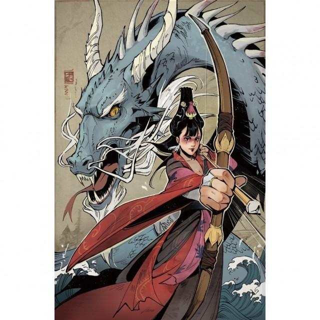 IDW and CMON Announce Rising Sun Comic Book Series