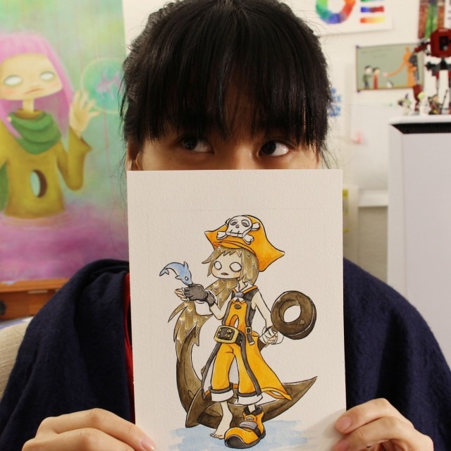 Julie Okahara Interview - Let Me Illustrate