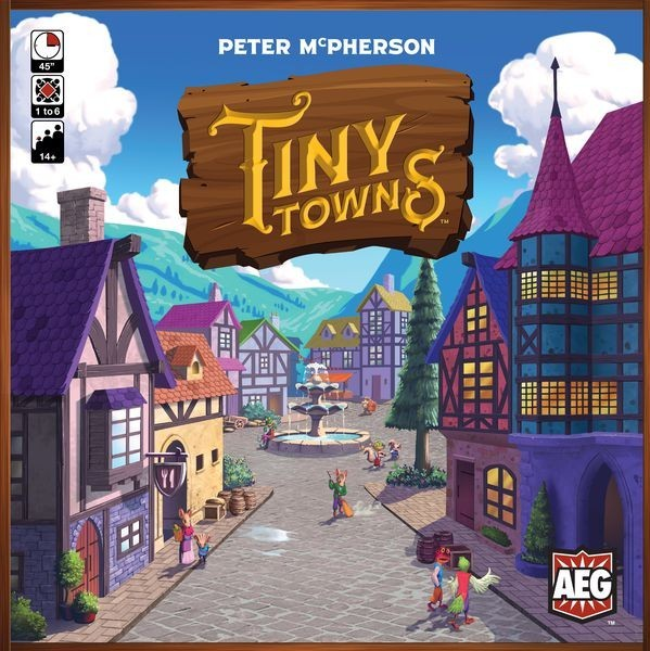 Tiny Towns Board Game Review - Analog Slog