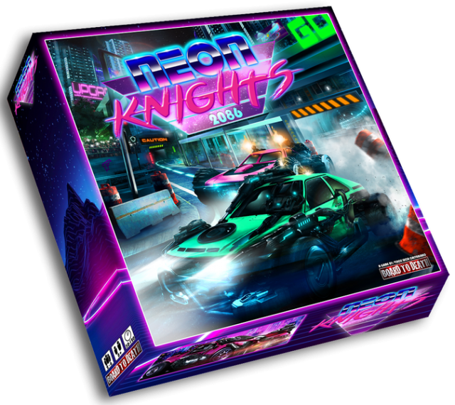 Neon Knights 2086 Board Game Review
