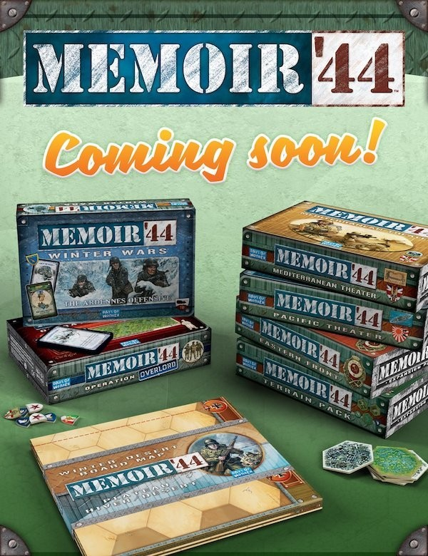 Memoir '44 Expansions Returning to Stores