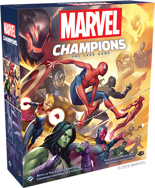 Marvel Champions - First Thoughts