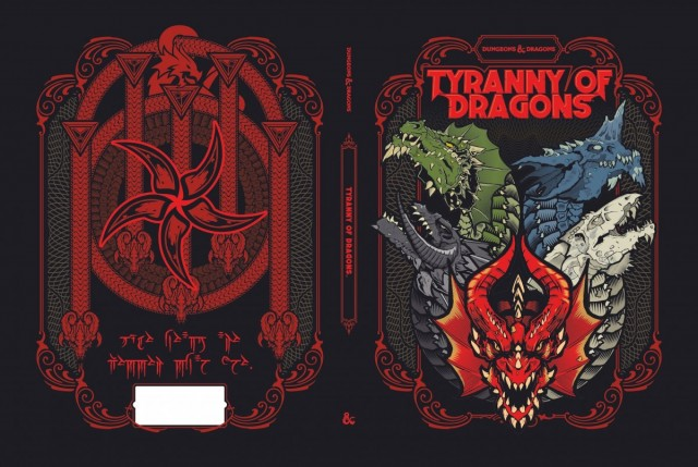 D&D Celebrates Five Years of Fifth Edition with a Special Re-Release of the Tyranny of Dragons Adventure That Kicked It All Off in 2014