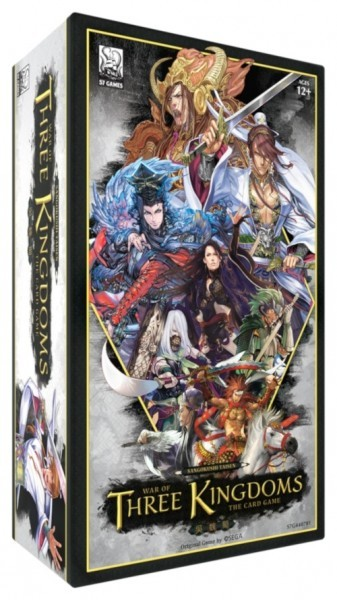 War of Three Kingdoms: The Card Game Based on Sangokushi Taisen Announced