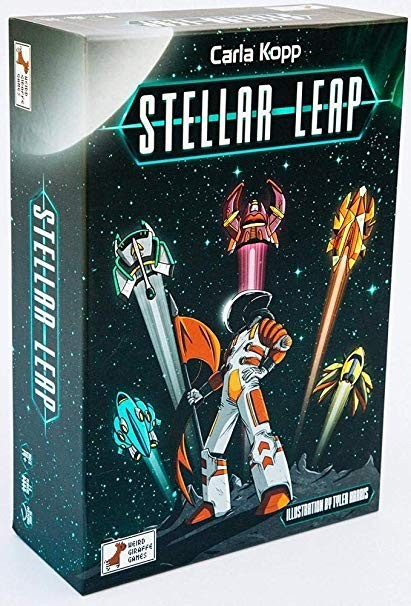 One Small Step for Stellar Kind: A Stellar Leap Board Game Review