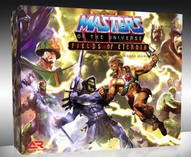 Masters of the Universe: Fields of Eternia Board Game Announced