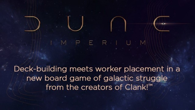 Dune: Imperium Board Game Announced by the Creators of Clank!